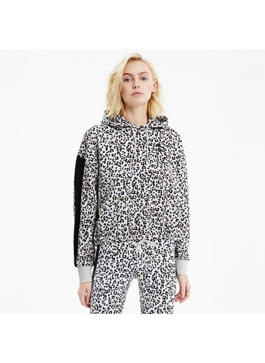 Puma Kadın Gri Classics Cropped Sweatshirt 598749.099 Gri